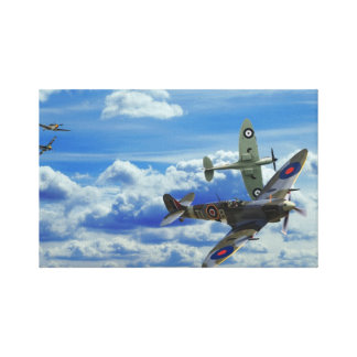 Battle in the Skies Canvas Print