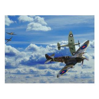 Battle in the Skies Postcard
