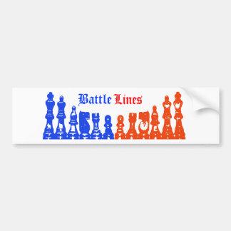 Battle Lines Bumper Sticker