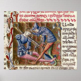 Battle Martin Gomez El Cid  'Chronicles of Poster