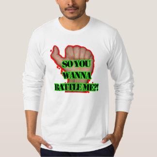 Battle me Fist! T Shirt