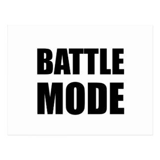 Battle Mode Postcard