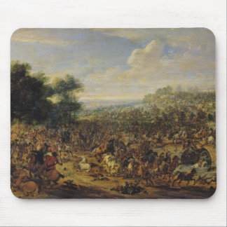 Battle near a Bridge Mouse Mat
