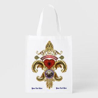 Battle New Orleans Bicentennial Please Read Below Reusable Grocery Bag