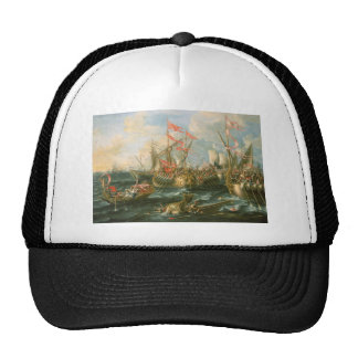 Battle of Actium Trucker Hats