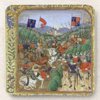 Battle of Agincourt, October 25th 1415 (w/c on pap Coaster