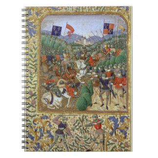Battle of Agincourt, October 25th 1415 (w/c on pap Notebook