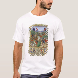 Battle of Agincourt, October 25th 1415 (w/c on pap T-Shirt