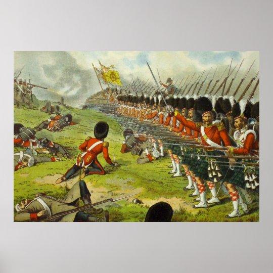 Battle of Alma Sutherland Highlanders 1854 Poster