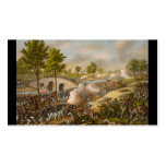 Battle of Antietam--Army of the Potomac: c. 1862 Business Card Template