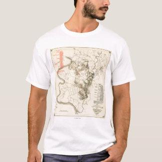 Battle of Antietam - Civil War Panoramic Map 4 T-Shirt