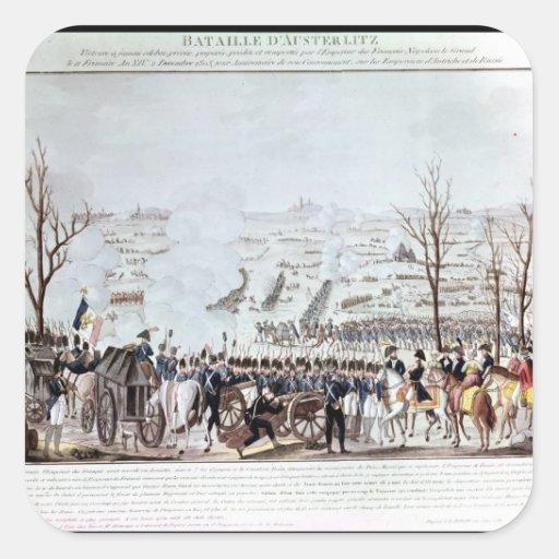 Battle of Austerlitz, 2nd December 1805 Sticker