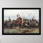 Battle of Austerlitz Loss of an Standard Poster