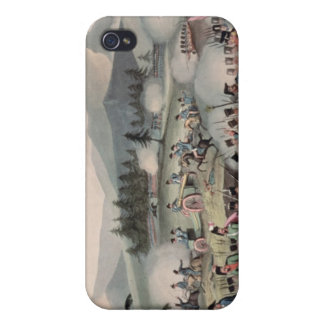 Battle of Barrosa etched by I. Clarke Case For The iPhone 4