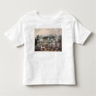Battle of Barrosa etched by I. Clarke Toddler T-Shirt