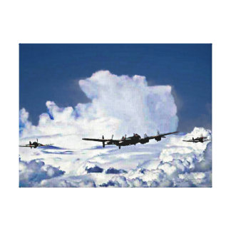 Battle of Britain Memorial Flight Stretched Canvas Prints