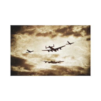 battle of britain memorial flight canvas print