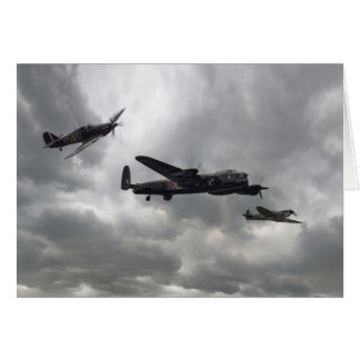 Battle of Britain Memorial Flight Card