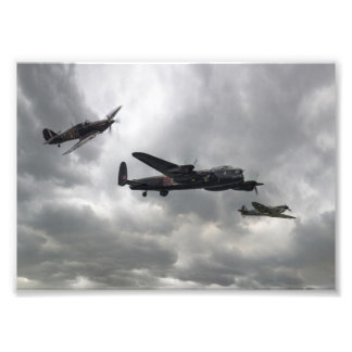 Battle of Britain Memorial Flight Photo Print