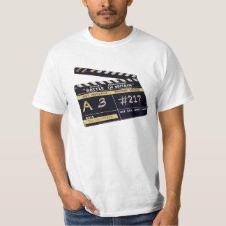 """Battle of Britain"" movie clapperboard T-Shirt"