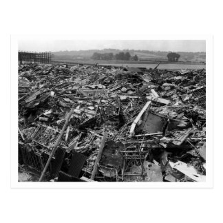 Battle Of Britain & The Blitz: #10 Graveyard Postcards