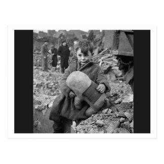 Battle of Britain & The Blitz: #28 Homeless Postcard