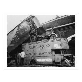 Battle of Britain & The Blitz: #41 Bomb Damage Postcard