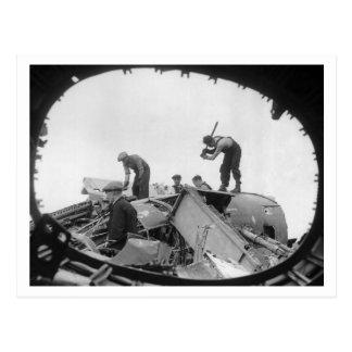 Battle Of Britain & The Blitz: #9 Salvage Postcard