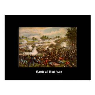 Battle of Bull Run Postcard