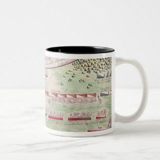 Battle of Camden, 1780 Two-Tone Coffee Mug