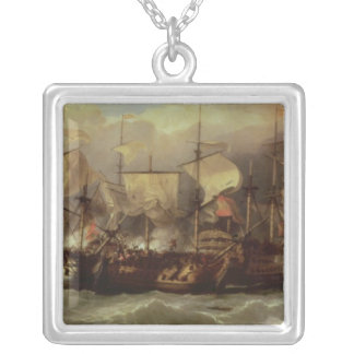 Battle of Cape St.Vincent Silver Plated Necklace