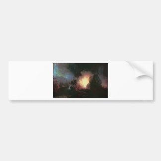 Battle of Chesma by Ivan Aivazovsky Bumper Sticker