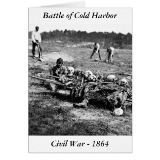 Battle of Cold Harbor, 1864 Greeting Card