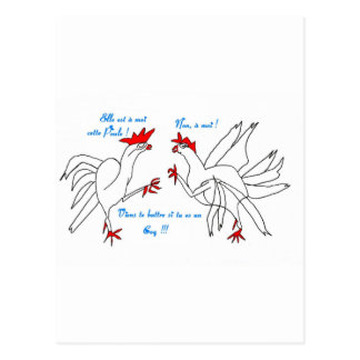BATTLE OF COQS.jpg Postcard