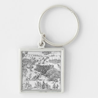 Battle of Courtrais Between French and Flemish Key Ring