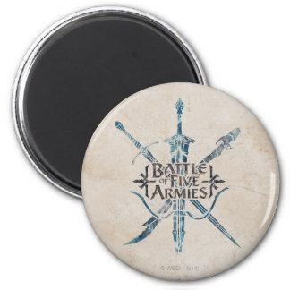 BATTLE OF FIVE ARMIES™ Logo Magnet