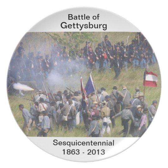 Battle of Gettysburg 150th Anniversary Plate