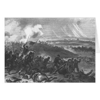 Battle of Gettysburg Card