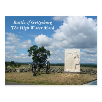 Battle of Gettysburg, High Water Mark Postcard