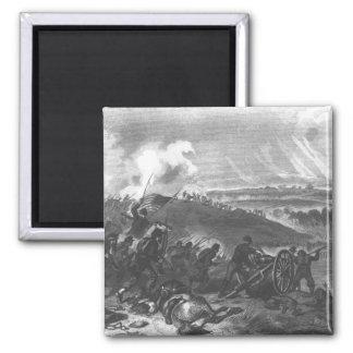 Battle of Gettysburg Square Magnet