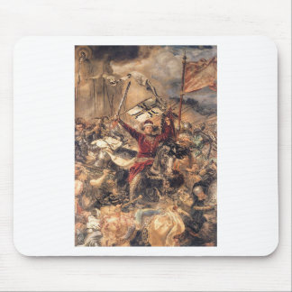 Battle of Grunwald, Witold (detail) by Jan Matejko Mouse Pad