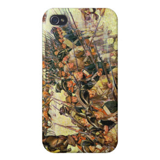 Battle of Guilford Courthouse by Charles McBarron Case For The iPhone 4