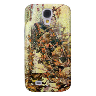 Battle of Guilford Courthouse by Charles McBarron Galaxy S4 Case