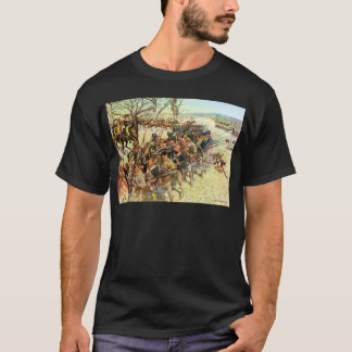 Battle of Guilford Courthouse by Charles McBarron T-Shirt