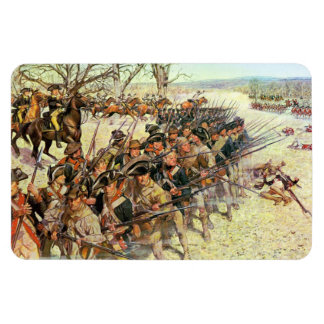 Battle of Guiliford Courthouse Rectangle Magnet