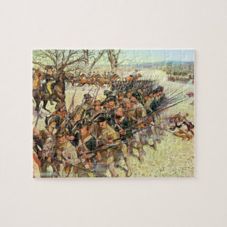 Battle of Guiliford Courthouse Puzzle