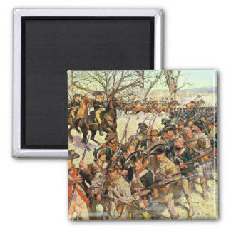 Battle of Guiliford Courthouse Square Magnet