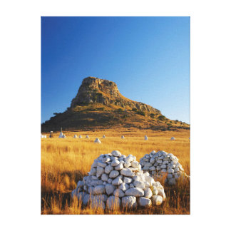 Battle Of Isandlwana Memorial Near Nqutu Canvas Print