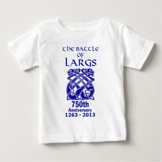 Battle Of Largs 750th Anniversary ( Light ) Baby T-Shirt