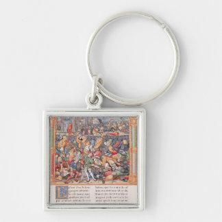 Battle of Nancy in 1477 Key Chains
